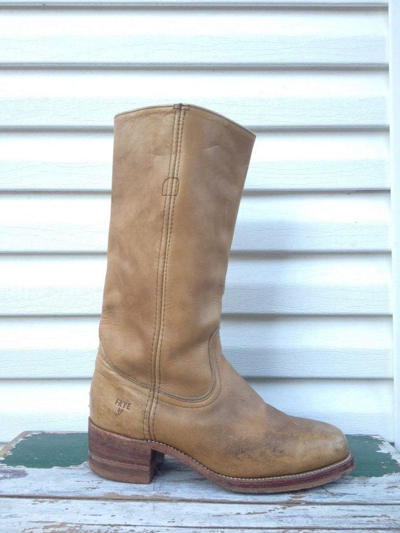 52c6cb3fcc21a Frye Boots 6.5 Tall Leather Boots Campus Boots Womens 6.5 Campus ...