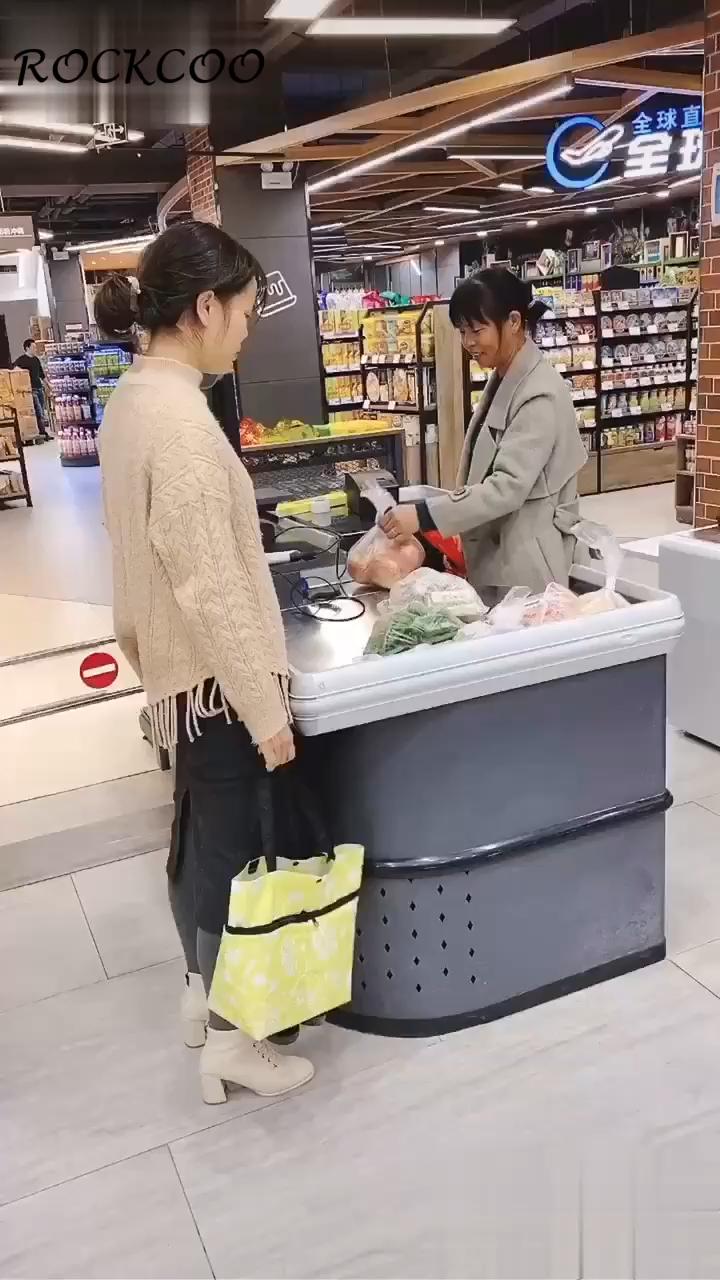 Photo of Shopping Bag Folding Green Bag