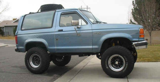 Ford Bronco Ii Common Upgrades Bronco Ii Corral Ford Bronco