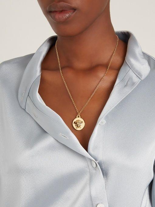 3828c8c0920ca Versace Medusa pendant necklace | Inspired New Look :- ) | Versace ...