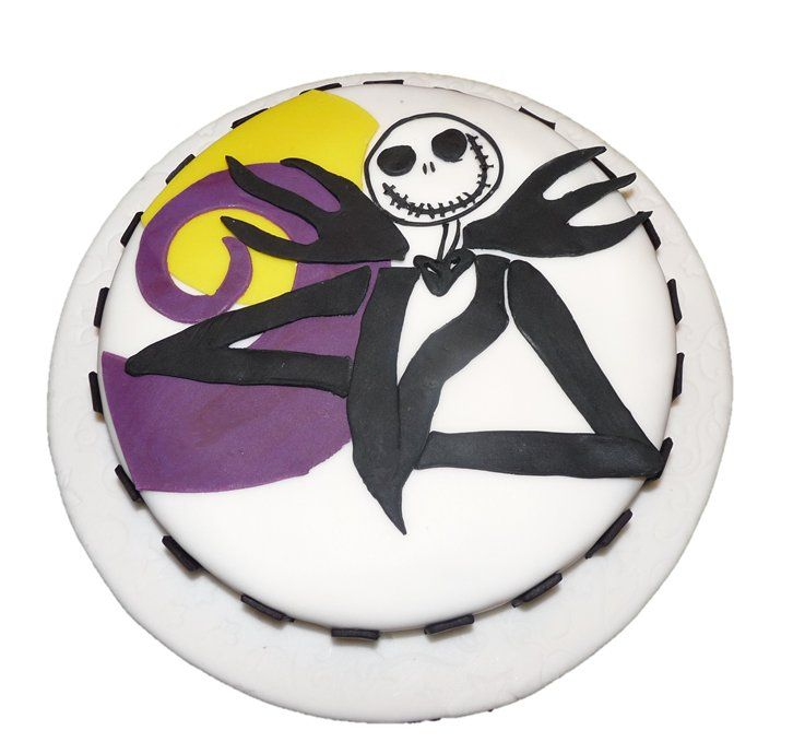Jack Skellington Cake - Nightmare Before Christmas Cakes, cakes