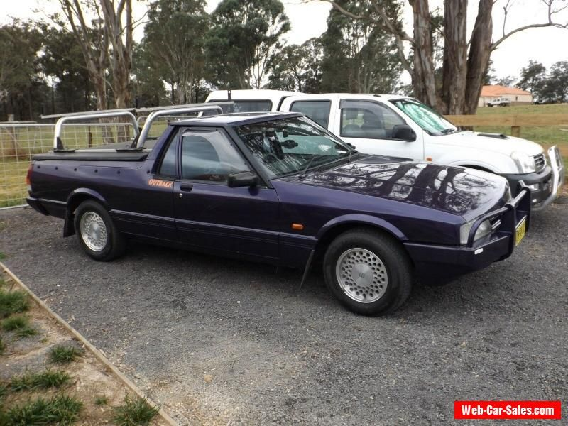 Car For Sale Ford Xg Falcon Longreach Outback Ute 3 Seater Manual