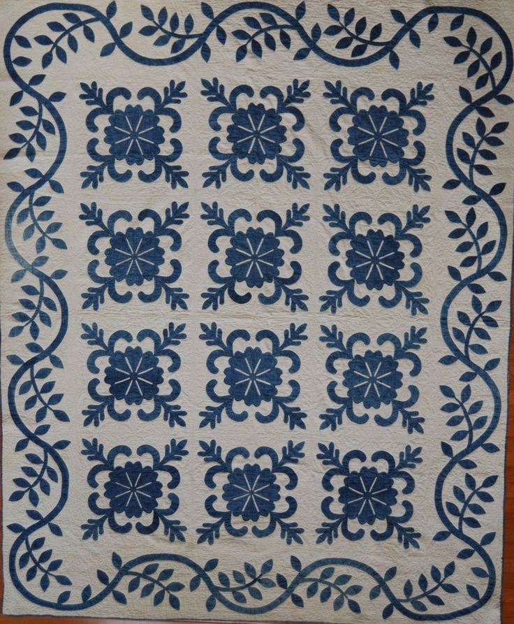 Border. | Ouilts | Pinterest | Blue quilts, Applique quilts and ... : ocean waves quilt guild - Adamdwight.com