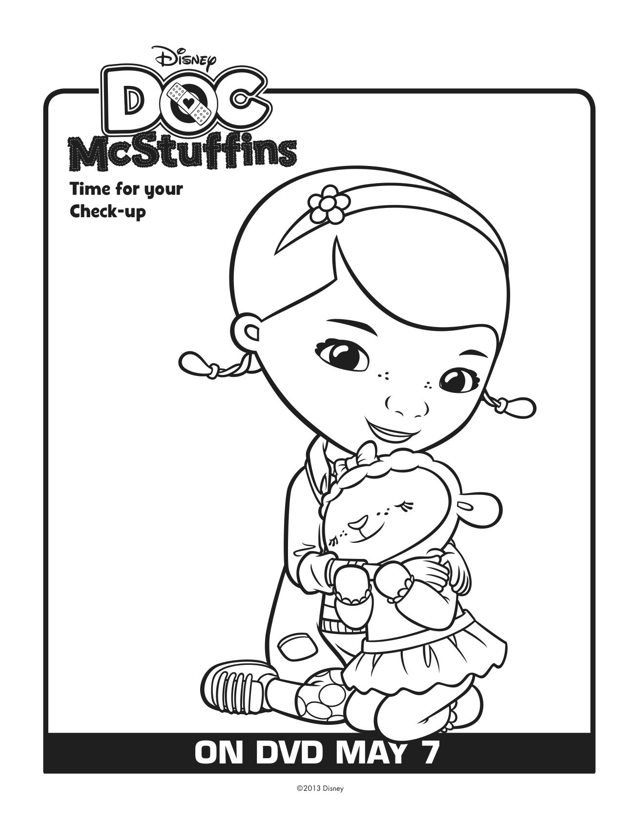 Free Doc Mcstuffins Printables Download Here Lady And The Blog Doc Mcstuffins Coloring Pages Doc Mcstuffins Coloring Pages