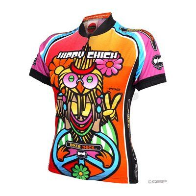 Cool World Jerseys Women s Hippy Chick Cycling Jersey  LG Check more at http    www.wocycling.com product world-jerseys-womens-hippy-chick -cycling- jersey-lg ... ac4a9f1ee