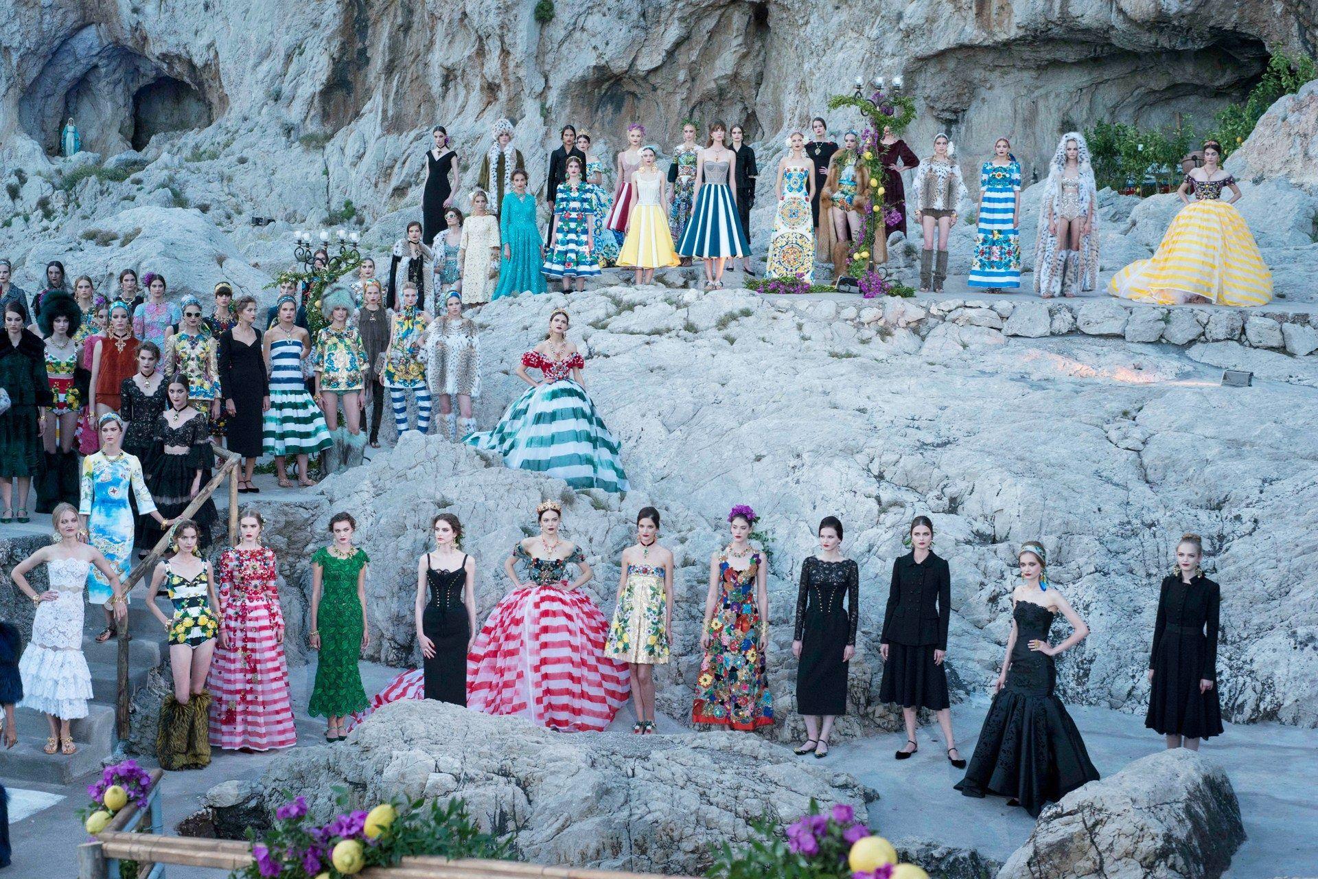 Dolce & Gabbana in Capri to Stella Jean in Rome...