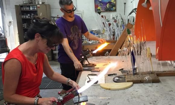 Make A Souvenir Of Your Trip To Florida At Zen Glass Studio In St