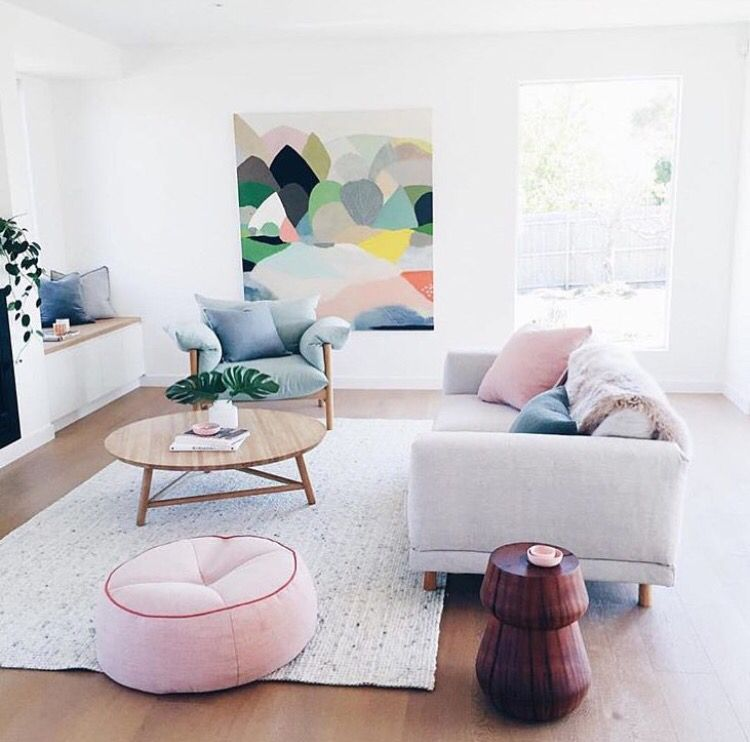 Farbideen Für Wohnzimmer: Skandinavische Wohnräume