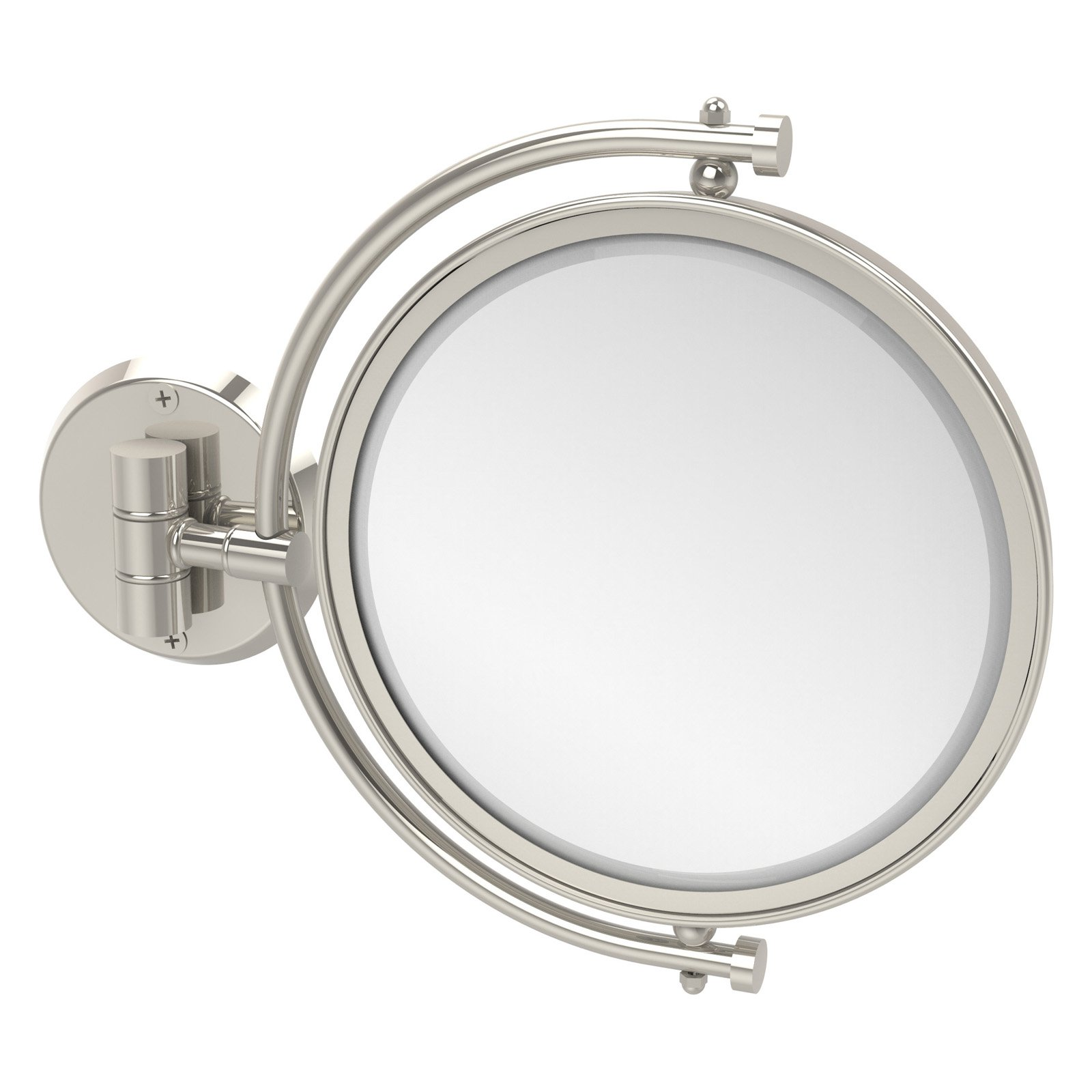 Allied Brass Wall Mounted Makeup Mirror with 4X