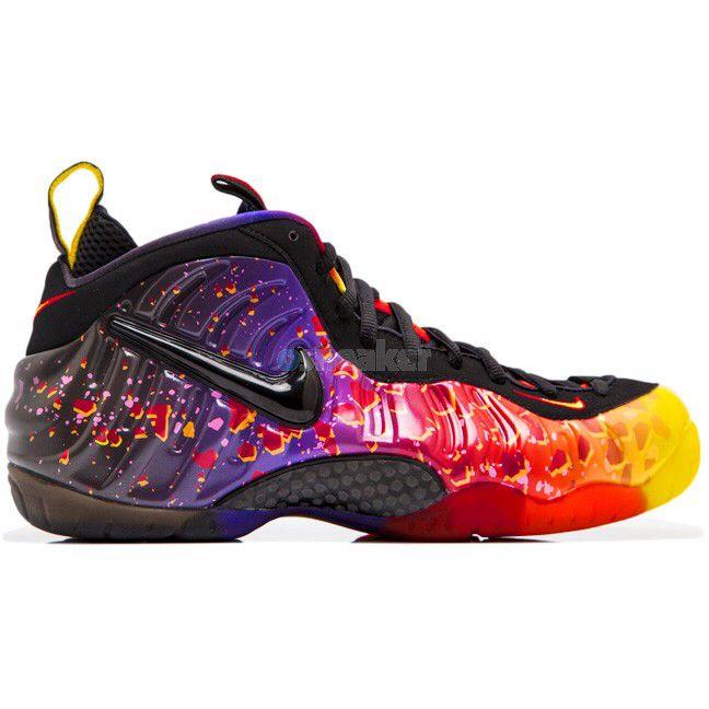 9f598163dd3 Astroid foam posites Galaxy Shoes