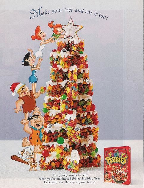 Fruity Pebbles Christmas Tree | Flintstones and the Spin-offs ...