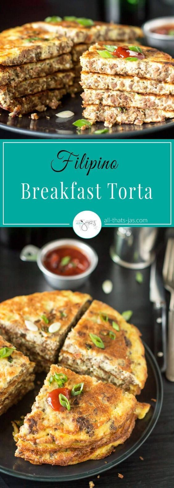 Filipino Beef Omelet Breakfast Torta All That S Jas Recipe Filipino Breakfast Recipes Breakfast Recipes