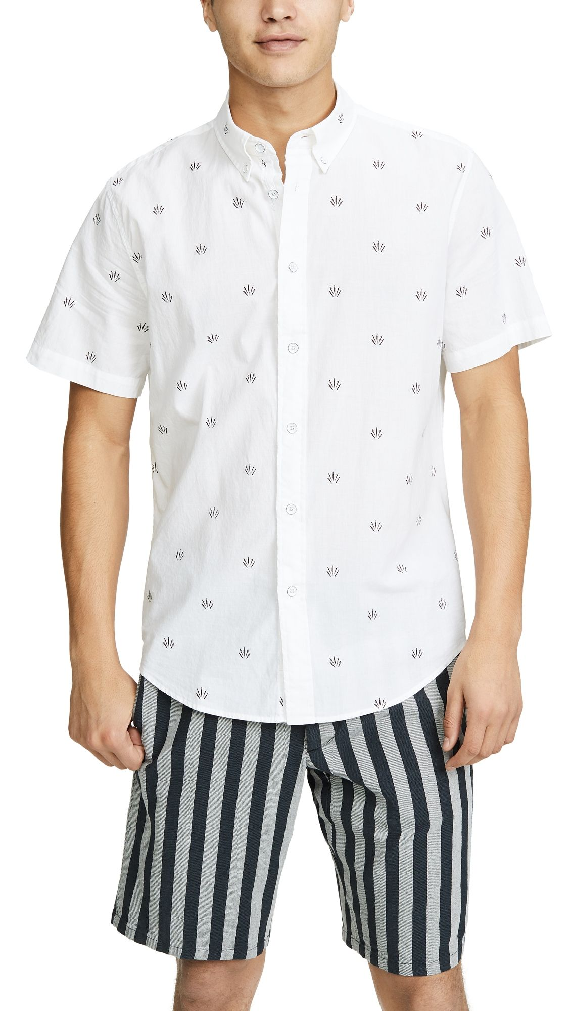 Men's Tomlin Fit 2 Slim Shortsleeve Sport Shirt In 768
