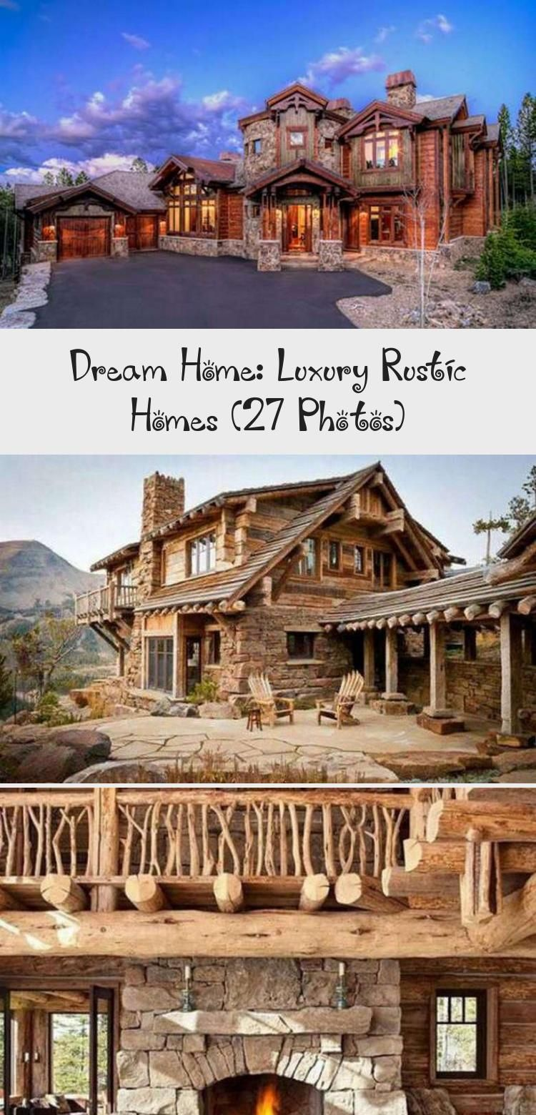So You Have Always Wanted To Build A Rustic Dream Home Perhaps Out In The Wilderness Somewhere Or You Just Want In 2020 Rustic House Dream House Rustic Home Offices