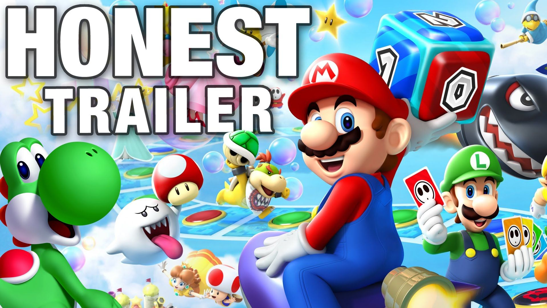 Mario party 10 honest game trailers nintendo 3ds games