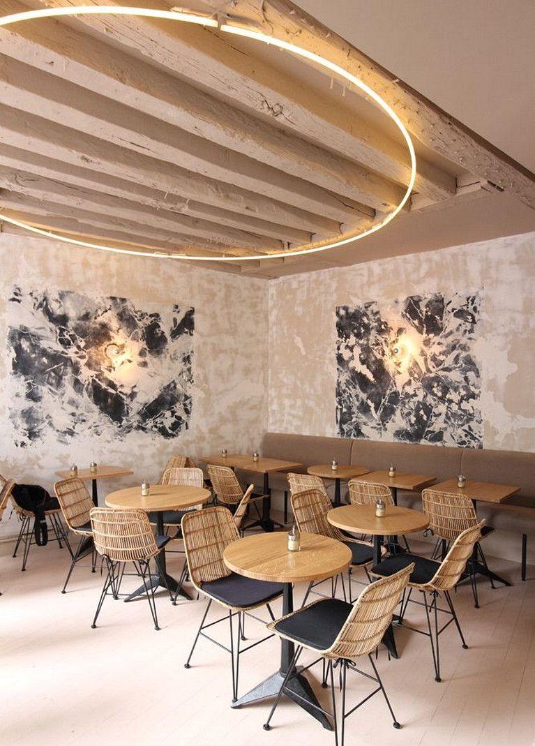13 Lighting Ideas For The Ceiling Modern Restaurant Modern Interior Design Restaurant Interior Design