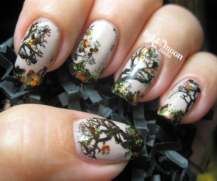 Notmn Fall Recreate From 2nd Nail Art Design Nails Nail Art By