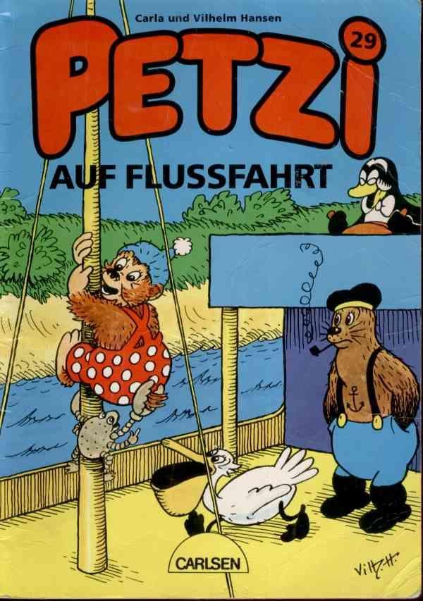 Je me souviens de l'ours Petzi, de l'amiral fumeur de pipe, du pinguoin et du pélican