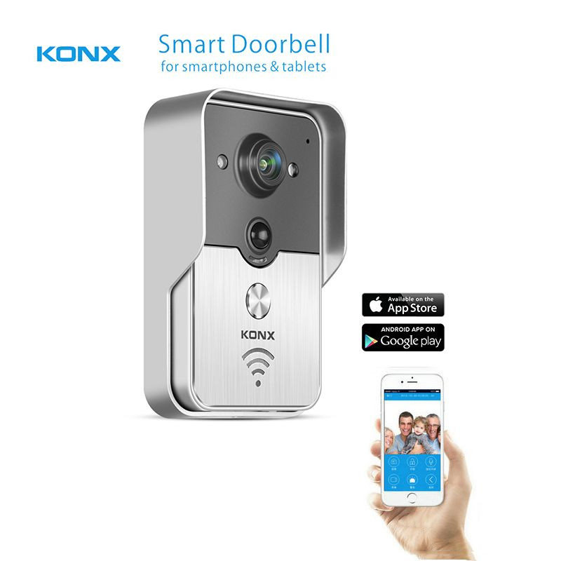 2016 Popular WiFi Wireless Video Door Phone intercom Doorbell ...