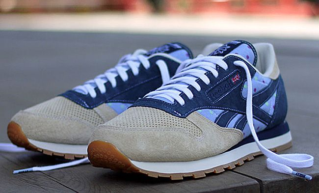 "9ee27efe6cd2 Mita sneakers x Reebok Classic Leather ""Tokyo 24 7″. These are nice ..."