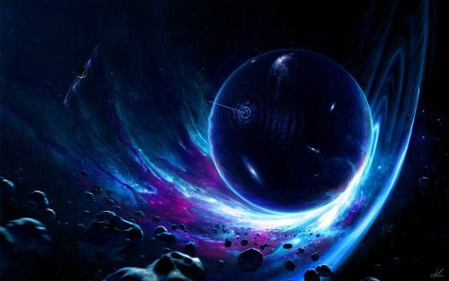 Boatsthatfly Space Art Planets Wallpaper Interstellar