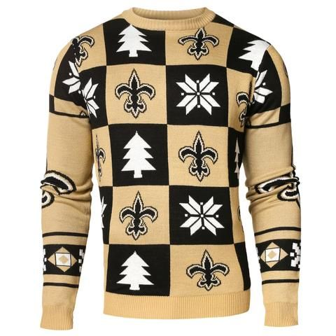 New New Orleans Saints Forever Collectibles Black & Gold Knit Patches  supplier