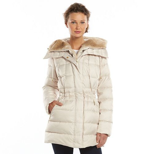 ad206c9362 Women's Apt. 9® Hooded Trapunto Puffer Jacket | my style | Puffer ...