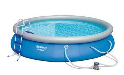 image for 15ft Bestway Fast Set Swimming Pool (con imágenes)