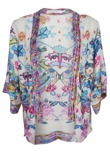 New oriental kimono jacket. Looks super amazing over a hot pink ...