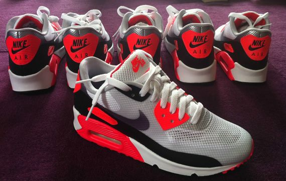 Air Max 90 Vente Infrarouge Hyperfuse
