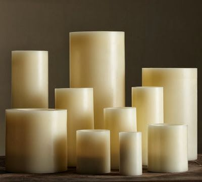 Pottery Barn Flameless Candles Cool Decor Look Alikes  Pottery Barn Flameless Wax Pillar Candles $1250
