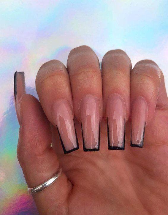 Long Square Acrylic Nails : square, acrylic, nails, Tantalizing, Designs, Attract, DarlingNaija, Square, Acrylic, Nails,, Nails