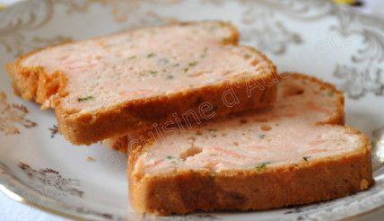 terrine tarama saumon fumé