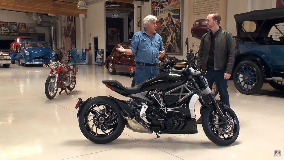Ducati Xdiavel Video In Jay Leno S Garage Adrenaline Capsules