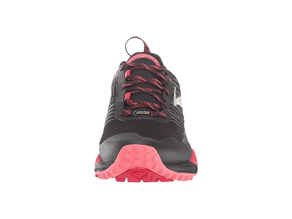 a5f475b60e9 Brooks Cascadia 13 GTX Women s Running Shoes Black Pink Coral ...