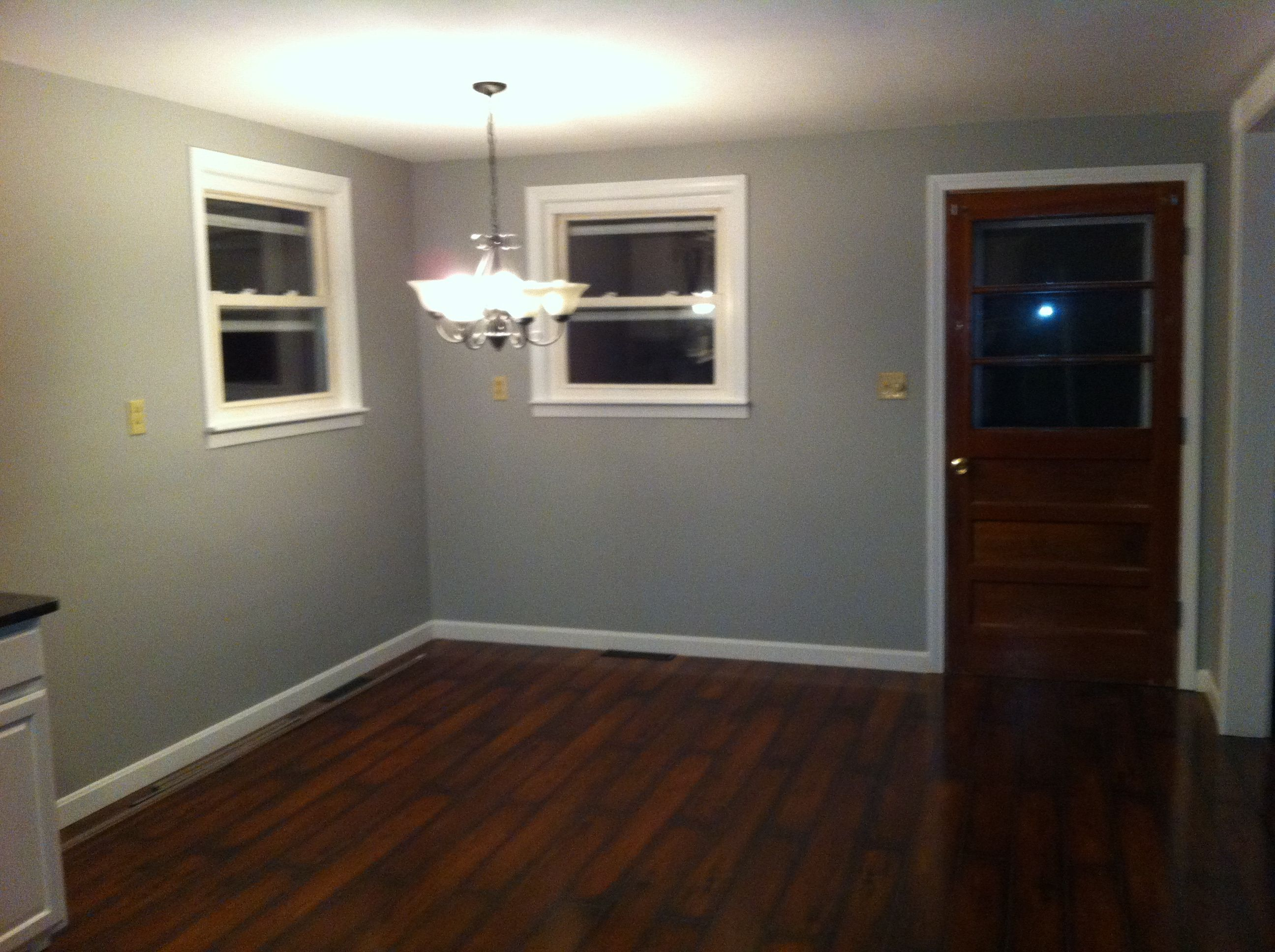 Master bedroom paint colors benjamin moore - Benjamin Moore Coventry Grey Just Painted Master Bedroom This Color And I Am In Love