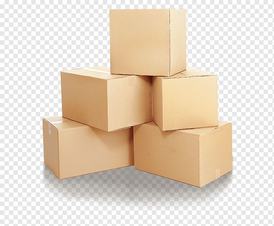 Cardboard Box Packaging And Labeling Package Delivery Packaging Cardboard Warehouse Carton Png In 2021