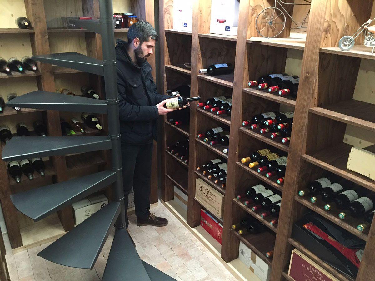 Cave A Vin Enterree En Beton Cave A Vin Cave Cave Enterree