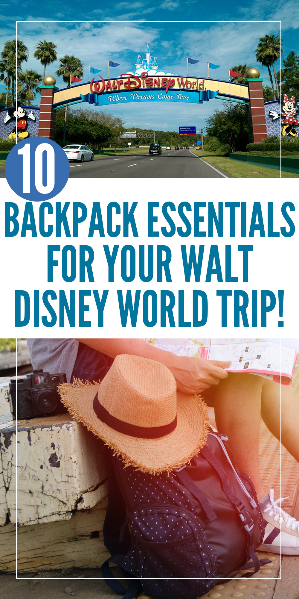 9b42adf1be9 Need some advice on what to pack in your backpack for Walt Disney World  We
