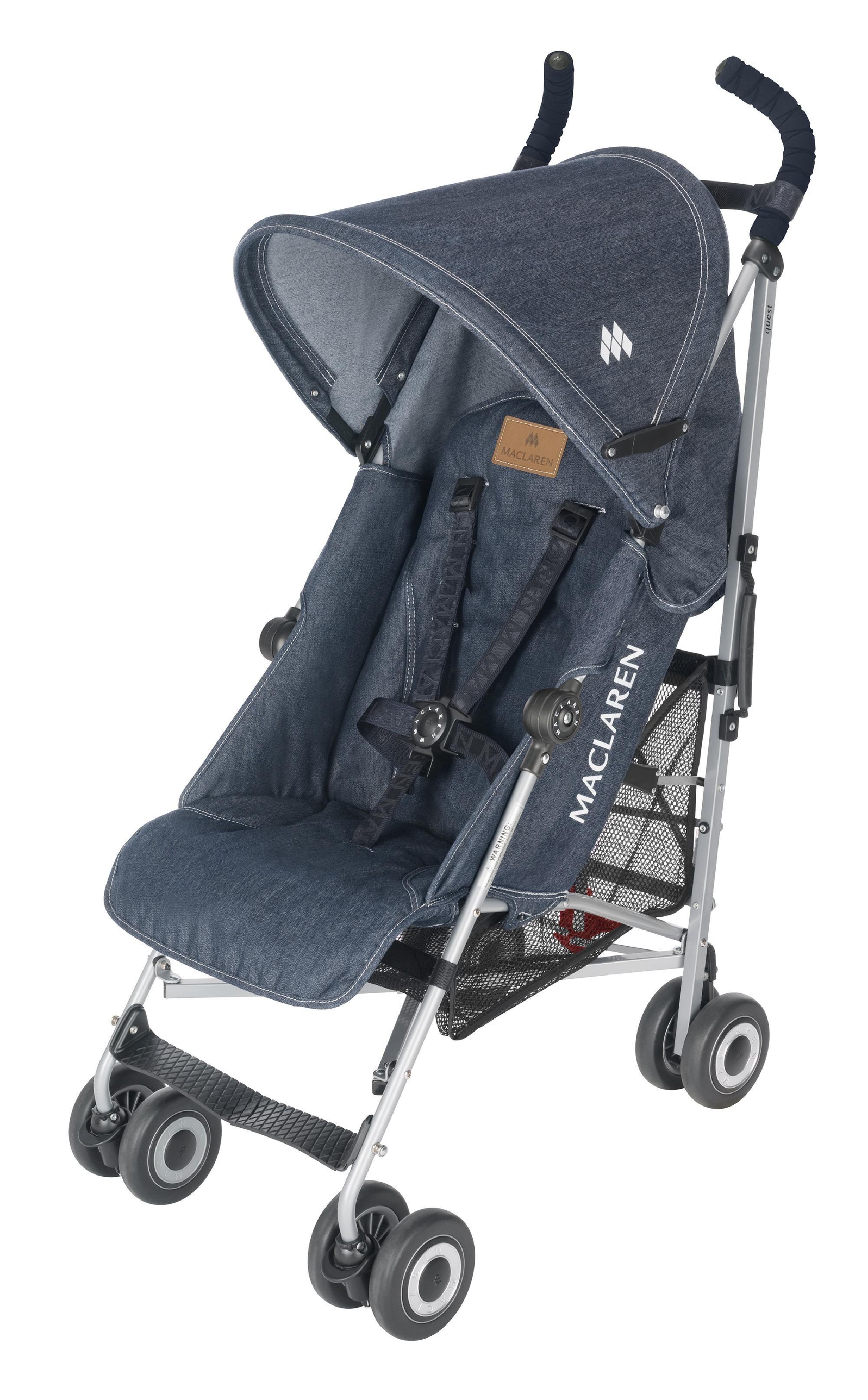Maclaren Quest Denim Baby strollers, Umbrella stroller