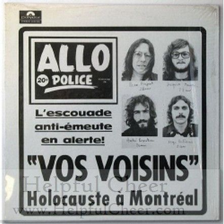 VOS VOISINS - VOS VOISINS Free shipping on orders over 50 - 0153 - Your Online Music Outle