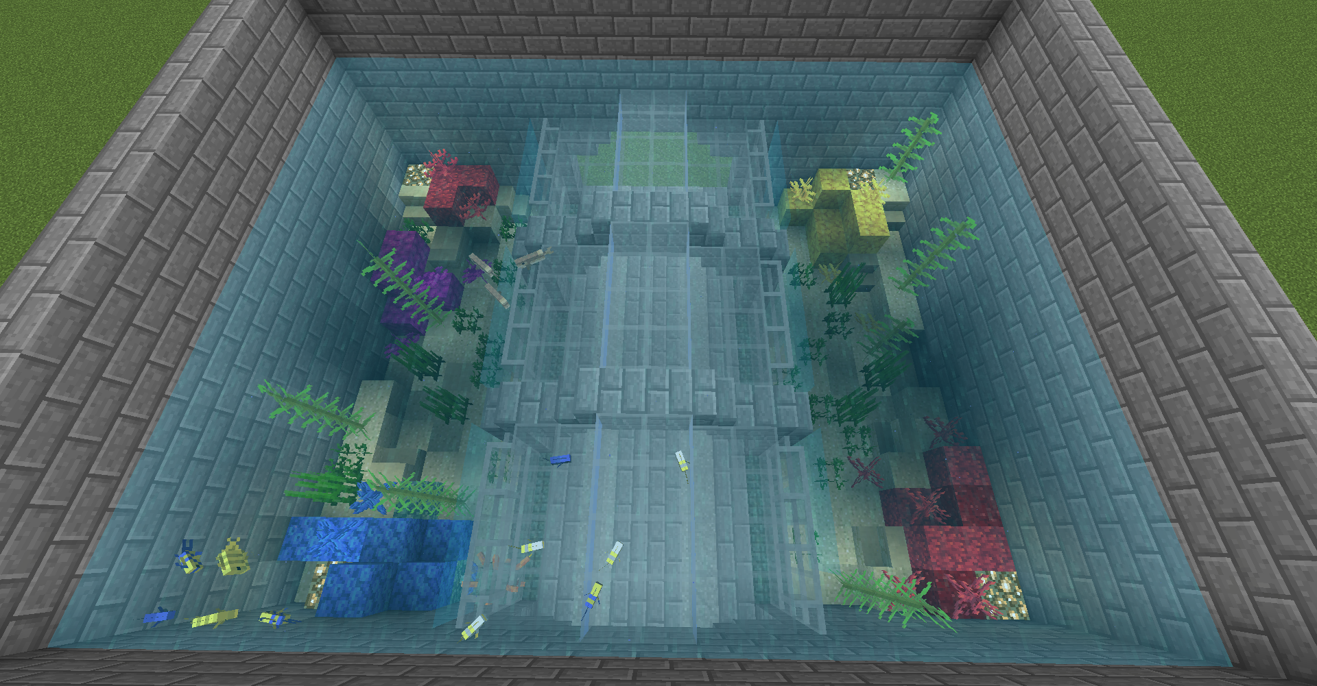 Minecraft On Reddit Minecraft Reddit Aquarium