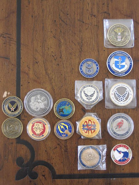 how to make challenge coins