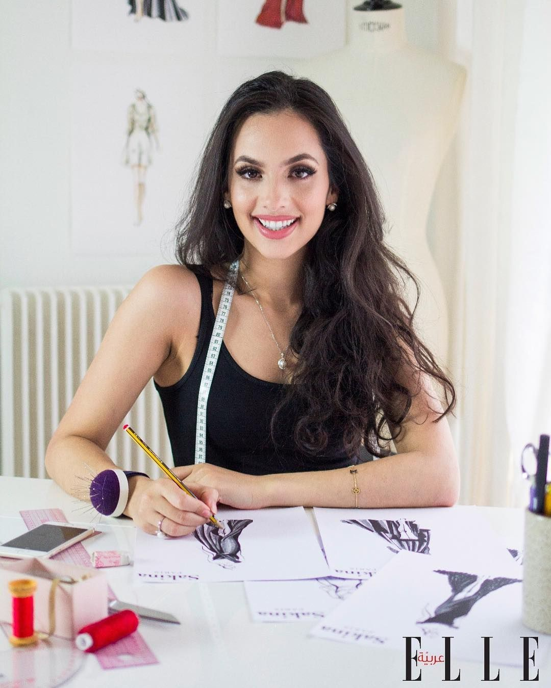 What It Takes To Be A Fashion Designer Is That You Have To Overcome Technical Challenges Read My Whole Interview For Ellemiddleeast Fashion Fashion Design Women