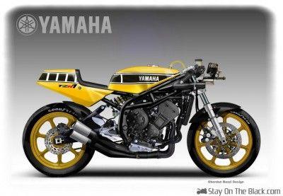 Oberdan Bezzi – Yamaha TZR1 Kenny Roberts Concept