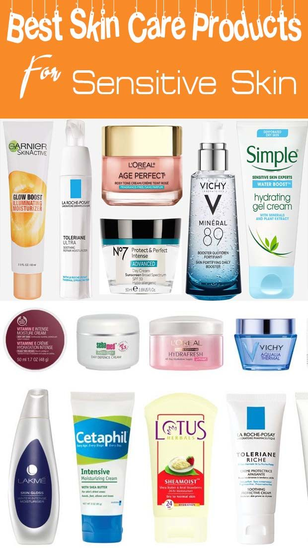 Best Skin Care Products For Sensitive Skin With Acne In India In