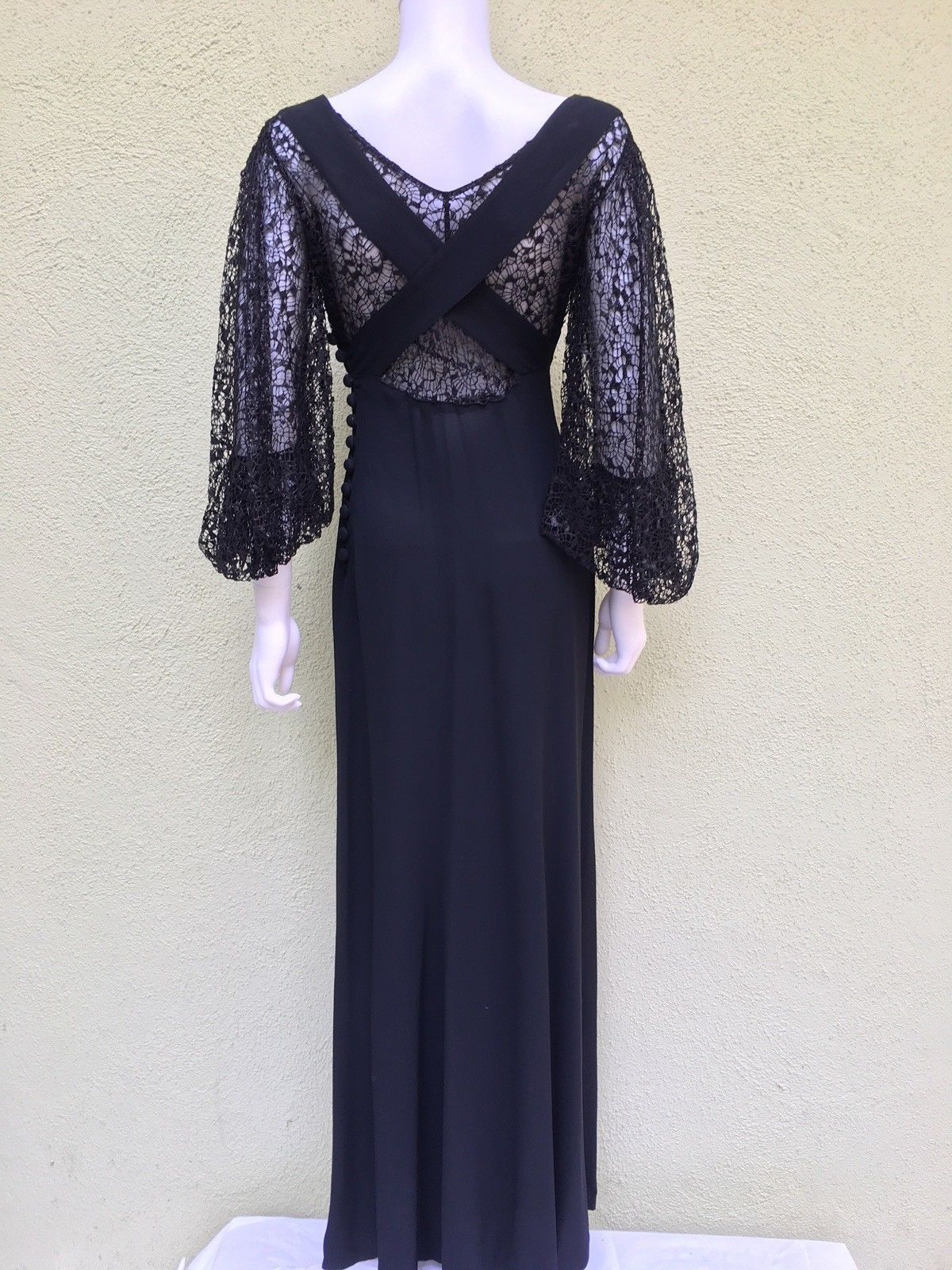 Original Lettie Lee 1930 S Evening Dress Ebay Vintage Fashion 1930s Dresses Vintage Fashion