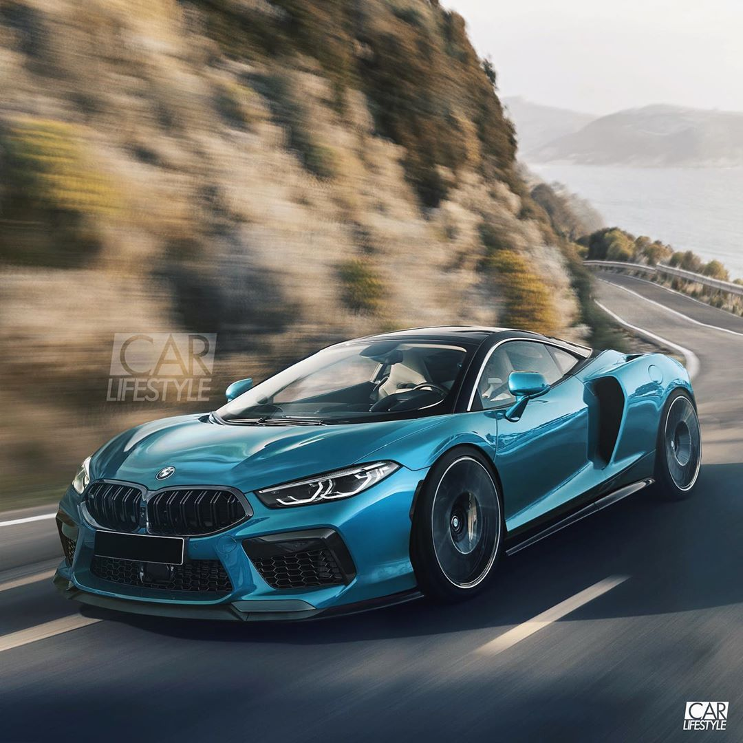 Bmw M9 Concept Photo Render By Carlifestyle Should Bmw Make A Supercar Comment Your Thoughts Below Carlifestyle M9 Bmw M8 Mi Bmw M9 Bmw Super Cars