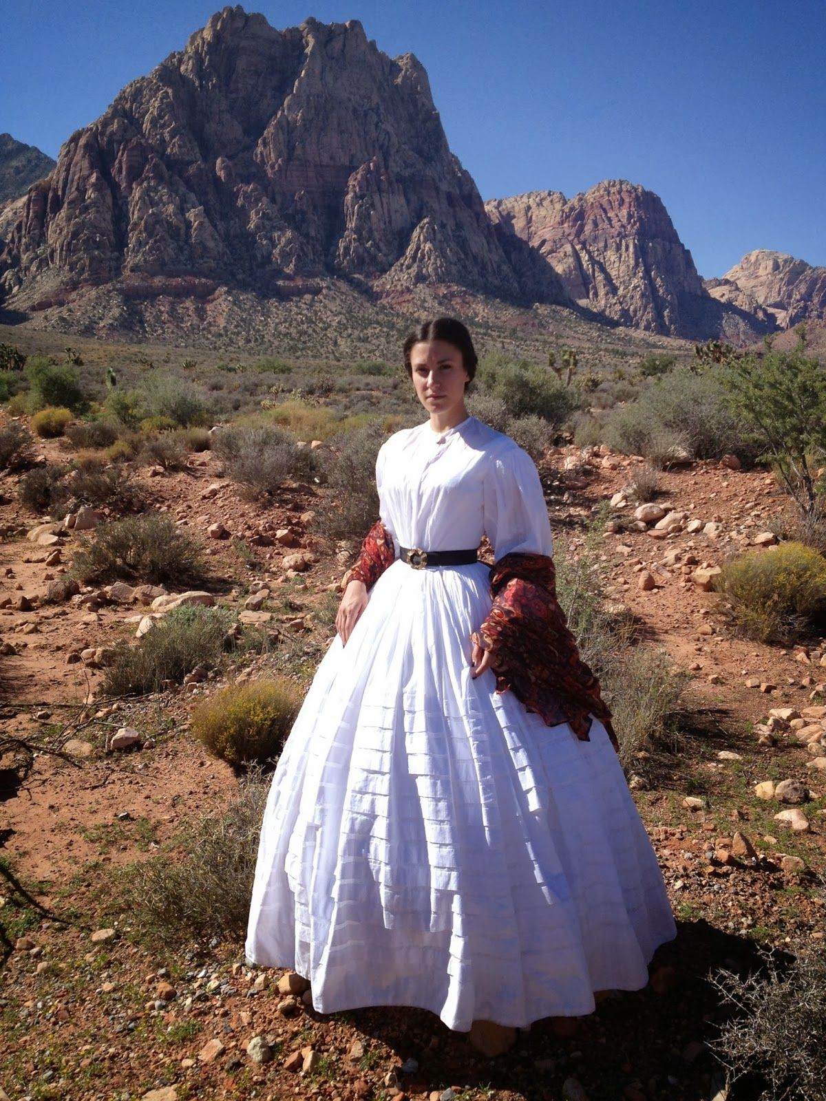 Dressed in Time Sheer 1860's Dress (With images