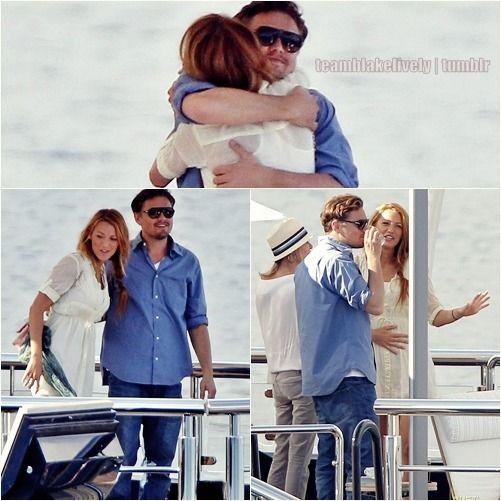 Leonardo Dicaprio Shares A Smile With Blake Lively As They Spend